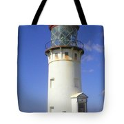 Kilaueau Lighthouse Tote Bag