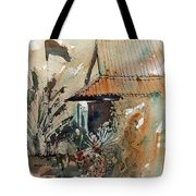 Killing Fields Museum Cambodia  Tote Bag