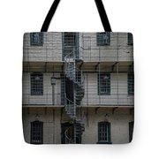Kilmainham Gaol Spiral Stairs Tote Bag
