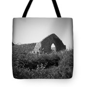 Kilmanaheen Church Ruins Ennistymon Ireland Tote Bag