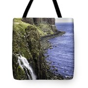 Kilt Rock On The Isle Of Skye Tote Bag