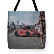 #kim And #porsche #gt3rs #print Tote Bag