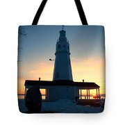 Kimberly Pointe Lighthouse Tote Bag