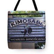 Kimosabe Tote Bag