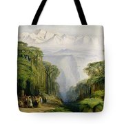 Kinchinjunga From Darjeeling Tote Bag