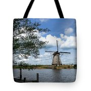 Kinderdijk Windmill Tote Bag