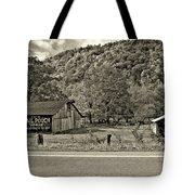 Kindred Barns Sepia Tote Bag