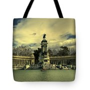 King Alfonso Monument  Tote Bag