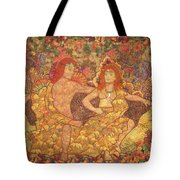 King And Queen Of The Fall Tote Bag