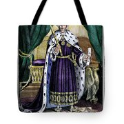 King Andrew The First Tote Bag
