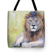 King At Rest Tote Bag