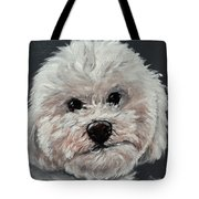 King Cavalier And Toy Poodle Mix Tote Bag