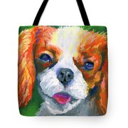 King Charles Tote Bag