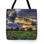 King Cotton Sunset Art Statesboro Georgia Tote Bag