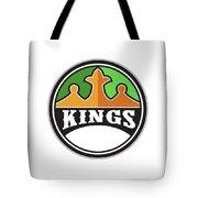 King Crown Kings Circle Retro Tote Bag