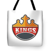 King Crown Kings Retro Tote Bag