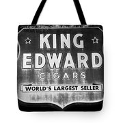 King Edward Cigars Tote Bag
