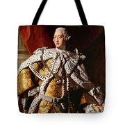 King George IIi Tote Bag by Allan Ramsay