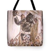 King Kong - Flashbulbs Anger Kong Tote Bag