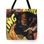 King Kong Tote Bag by Georgia Fowler