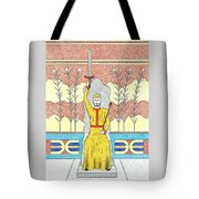 King Minos Tote Bag