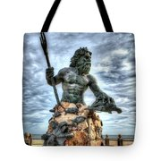 King Neptune Virginia Beach  Tote Bag