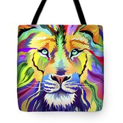 King Of Techinicolor Variant 1 Tote Bag