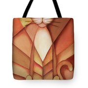 King Of The Cats Tote Bag by Jutta Maria Pusl