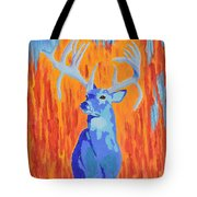 King Of The Fall Tote Bag