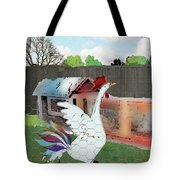 King Of The Hen House Tote Bag