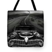 King Of The Highway Tote Bag