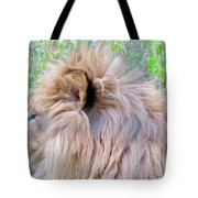 King Of The Jungle Profile  Tote Bag