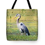 King Of The Marsh Tote Bag