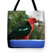 King Of The Parrots Tote Bag