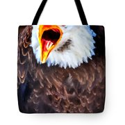 King Of The Raptors Tote Bag