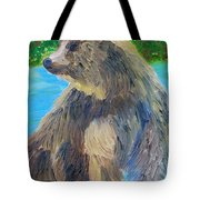 King Of The Stream Tote Bag