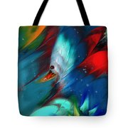 King Of The Swans Tote Bag
