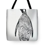 King Penguin Tote Bag