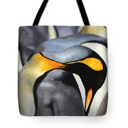 King Penquins Tote Bag