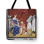 King Philip Iv Of France Tote Bag