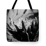 King Protea Exotic Tropical Flowers Tote Bag