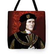 King Richard IIi Of England Tote Bag