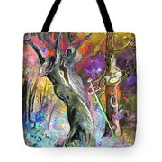 King Solomon And The Two Mothers Tote Bag