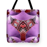 King Street Station In Fractal 2 Tote Bag