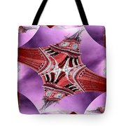 King Street Station In Fractal Tote Bag