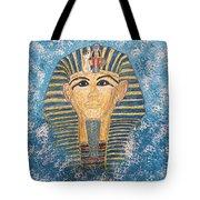 King Tutankhamun Face Mask Tote Bag