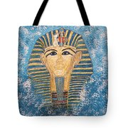 King Tutankhamun Face Mask Tote Bag