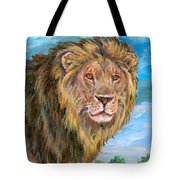 Kingdom Of The Lion Tote Bag