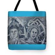 Bird And Metamorphosis Tote Bag