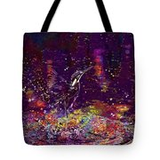 Kingfisher Bird Alcedo Atthis  Tote Bag